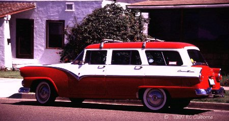 Ford on 1955 Ford Country Sedan Station Wagon