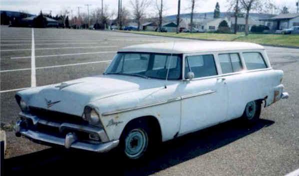 1955 Plymouth Plaza Station Wagon