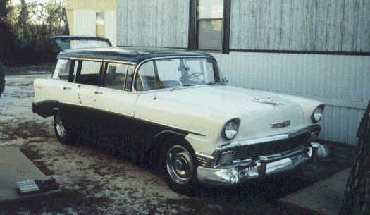 1956 chevy beauville station wagon for 1956 chevy wagon 4 door