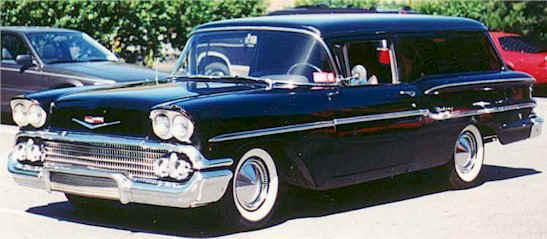 1958 Chevy Sedan Delivery