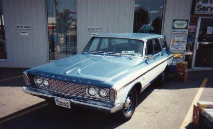 1963 Plymouth Fury Max Wedge Station Wagon