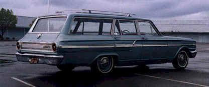 Ford fairlane station wagon