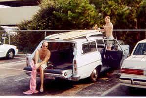 1966 Ford Fairlane station wagon