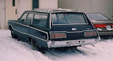 1968 Dodge Monaco Station Wagon