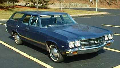 1970 Chevrolet Chevelle Nomad (2-door)station wagon