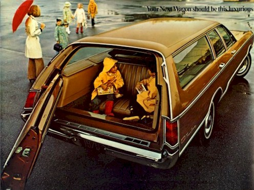 1970 Chrysler Town Amp Country Station Wagon