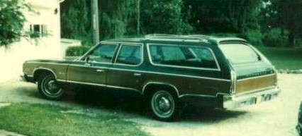 1975 Plymouth Gran Fury - Feel the wood panel rage!