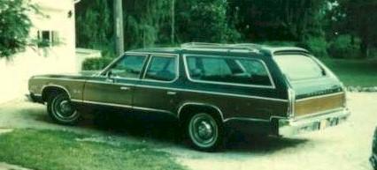 1975 Plymouth Gran Fury - Feel the wood panel rage!
