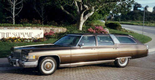 1976 Cadillac Castilian - If it were black, it'd be a hearse