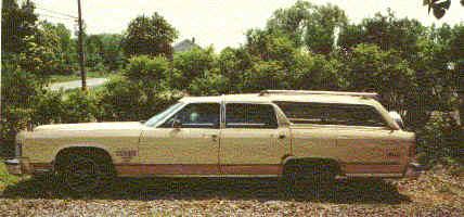 1979 lincoln continental station wagon conversion. Black Bedroom Furniture Sets. Home Design Ideas