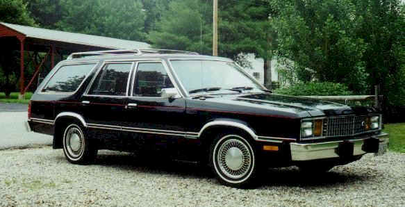 1980 Ford Fairmont station wagon