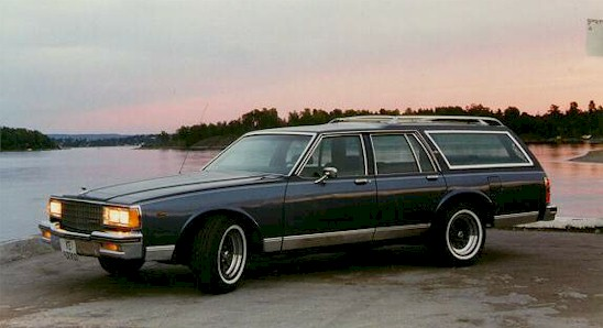 Vehicles: 1984 Chevrolet Caprice Classic Sedan and 1990 Mercury