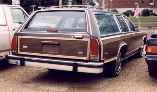 1984 ford station wagon