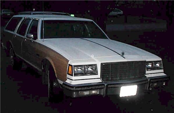 1986 Buick Electra Estate Station Wagon