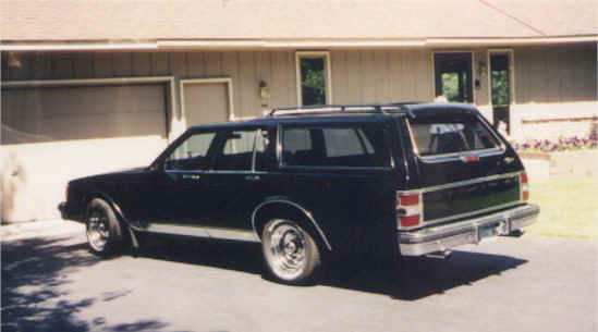 1986 Chevy Caprice Classic Station Wagon by Cherie