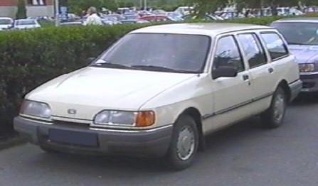 Ford on 1988 Ford Sierra Station Wagon  Poland