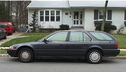 Honda on 1993 Honda Accord Station Wagon