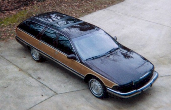 1996 Buick Roadmaster station wagon