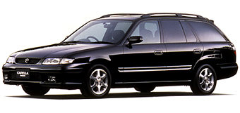 Mazda on 1998 Mazda Capella S Rx 2000 Dohc 4wd Stationwagon