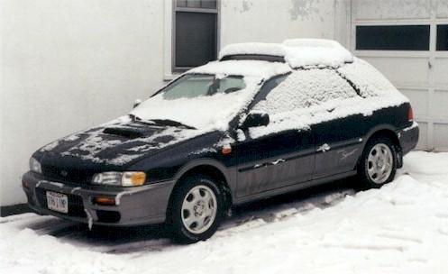 1998 Subaru Impreza Outback Sport station wagon