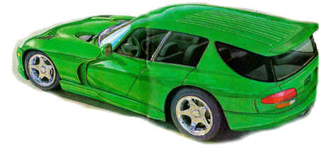 Dodge on 1999 Dodge Viper Concept Station Wagon